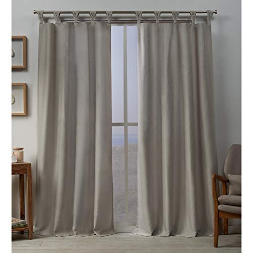 Exclusive Home Curtains Loha BT Panel Pair, 54x84, Beige
