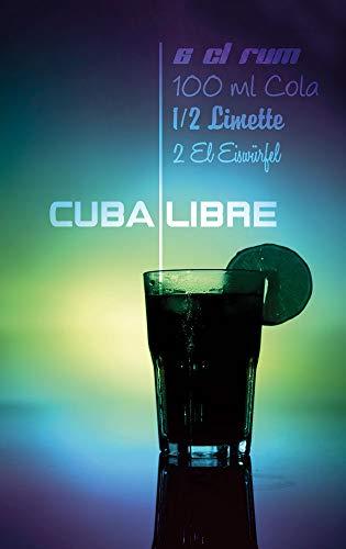 GRAZDesign keukenfoto's voor bar - wandafbeeldingen Cuba Libre - schilderijen keuken recept - wanddecoratie keuken cocktail / 100791 modern 60x100cm