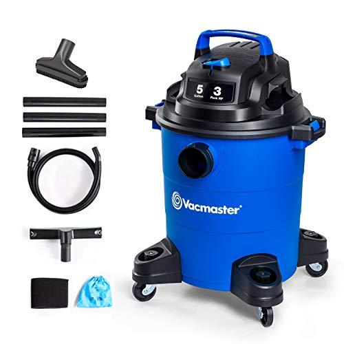 Vacmaster 3 Peak HP 5 Gallon Shop Vacuum...