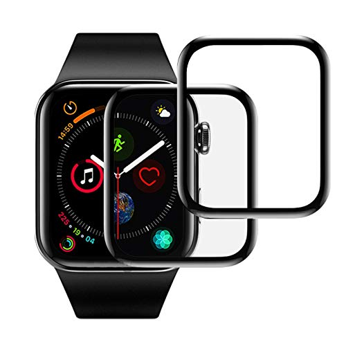 Pellicola Vetro Temperato per Apple Watch 38mm Series 1 / Series 2 / Series 3, Electro-Weideworld 3D Full Coverage Pellicola Protettiva per Apple Watch 38mm, Durezza 9H,Anti-riflesso,Ultra-Clear