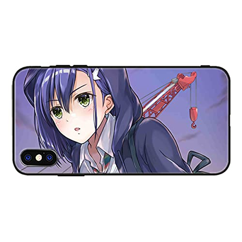 Anime Manga Darling in The FranXX-Girl Fundas Coque en Verre trempé pour iPhone 6 6S 7 8 Plus X XR XS MAX 11 Pro MAX Se 2020 Cartoon Back Covers