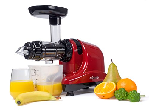 ENTSAFTER JUICEME DA1000 KALT-PRESS Slow Juicer (Rot)