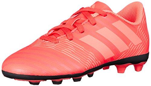 adidas Unisex-Erwachsene Nemeziz 17.4 FxG JR CP9207 Fußballschuhe, Mehrfarbig (Indigo 001), 38 2/3 EU