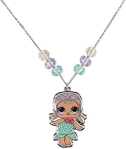 LOL Surprise! 2500001119_TU-C20 Collana da bambina in acciaio inox 18,5 cm