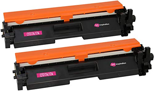 2 INK INSPIRATION® Tóners compatibles con HP CF217A 17A Laserjet Pro MFP M130nw M130fn M130fw M130a M102a M102w   1600 páginas   con Chip