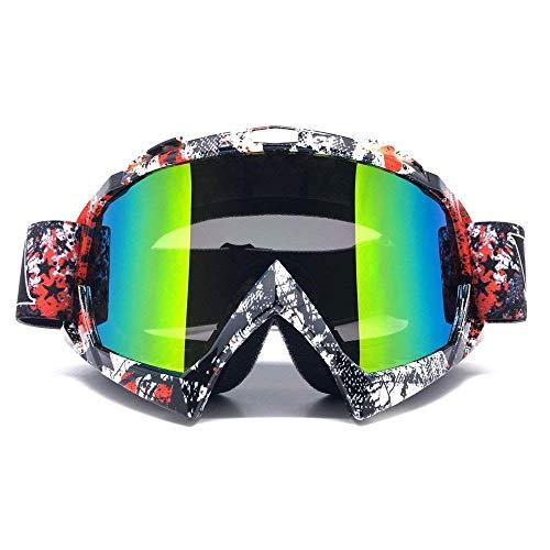 ZDATT Motorcycle Motocross Goggles, Adult ATV Racing Goggles...