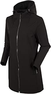 Brooklyn Water Resistant Women's Car Coat - Full Zip ¾...