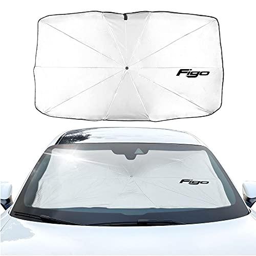 Parasol Coche Cubierta de parasol de sombrero de parabrisas de coches Compatible con FORD C SMAX Expedition Fiesta FIESTA FLEX FUSION GALAXY GT KA PUMA RANGER ROPTOR TRANSIT Cortina de malla para coch