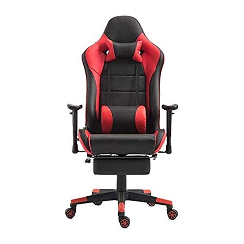 HAOSHUAI Gaming Stühle Gaming Stuhl Bürostuhl Rennstuhl Home Schreibtischstuhl (Farbe: Bildfarbe, Größe: 70x70x125cm) (Color : Picture Color, Size : 70X70X125CM)
