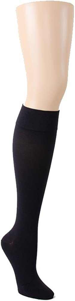 LEGEND Opaque 15-20 mmHg Knee Highs with Closed Toe