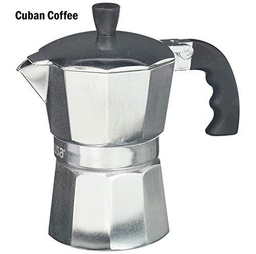 top rated IMUSA USA B120-42V Espresso Aluminum Plate, Coffee Machine, 3 Cups, Silver 2020