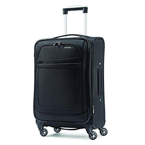 American Tourister Ilite Max Softside Spinner 25, Black, One Size