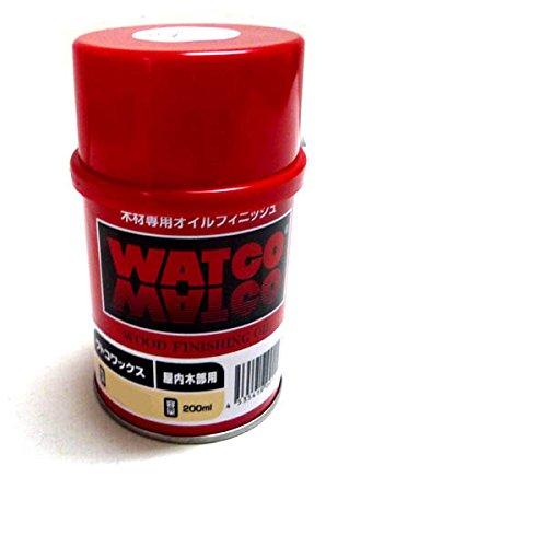 浸透性塗料 ワトコ ワックス W-14 茶 (ダークウォルナット) 200ml