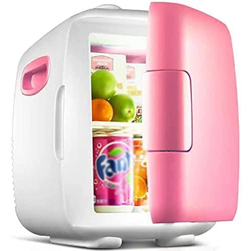 Mini Refrigerador Congelador de Coche12L,12V / 220V,Adecuado para Dormitorio, Oficina en el Hogar al aire Libre, Taxi, Cosméticos, Almacenamiento de Leche Materna,Fruta