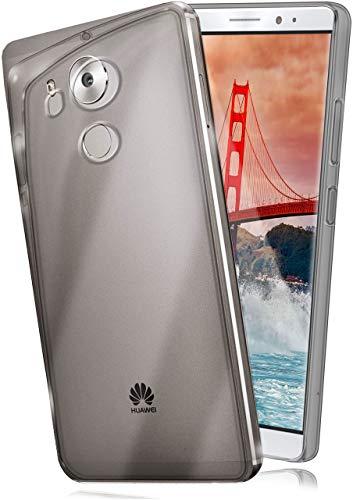moex Aero Hülle kompatibel mit Huawei Mate 8 - Hülle aus Silikon, komplett transparent, Klarsicht Handy Schutzhülle Ultra dünn, Handyhülle durchsichtig einfarbig, Klar