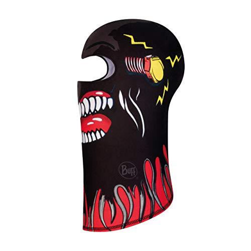 Buff Terrifying Balaclava Polaire Jr Mixte Enfant, Noir, FR Unique Fabricant : Taille One sizeque