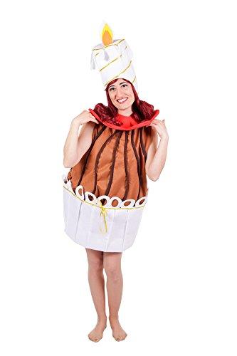 Nines d 'onil Export Oblong Kostüm für Damen, Braun und Weiß (d8708)