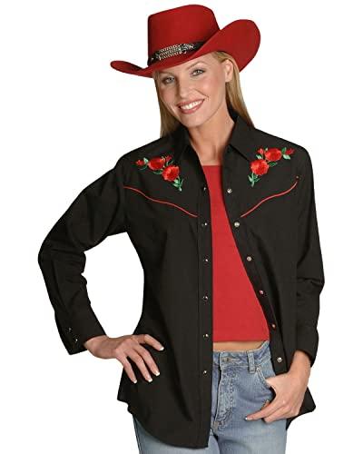 ELY CATTLEMAN Women's Long Sleeve Western Shirt