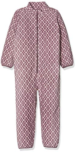 NAME IT Nmfspektra Wholesuit AOP 1fo Traje de esquí, Multicolor (Black Plum Black Plum),...