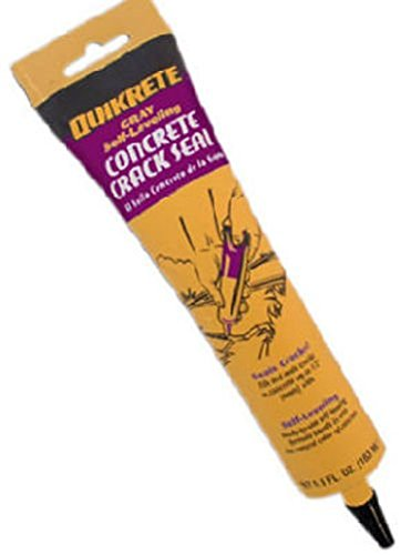 Quikrete 864015 5.5oz Gray Self-Leveling Concrete Crack Sealant