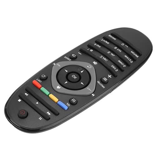Gedourain Control Remoto De TV Universal, Control Remoto De TV Inteligente ABS Distancia De Transmisión Más Lejana para DVD para TV con Control Remoto