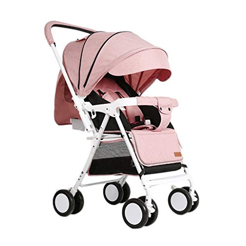 Sale!! King Boutiques Folding Stroller Baby Stroller can Sit and Lie Light Portable Folding Umbrella...