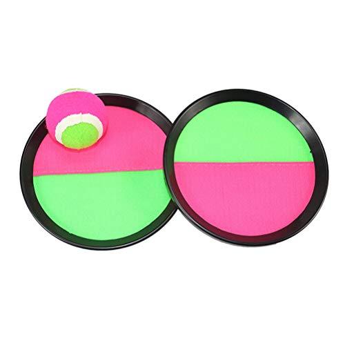 LIOOBO Paddle Tennis Spielzeug Ball Werfen und Fangen Sport Ball Werfen Fangen Bat Ball Game Set Spielzeug