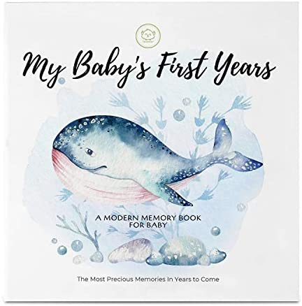 Baby First 5 Years Memory Book Journal 90 Pages Hardcover First Year Keepsake Milestone Newborn product image