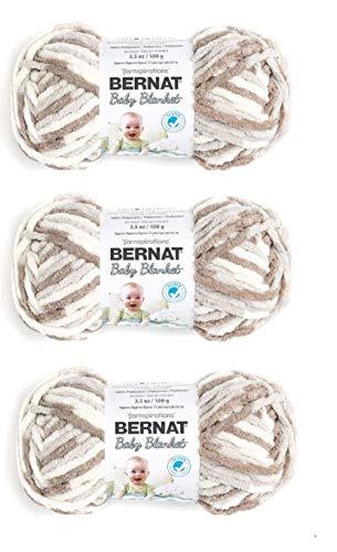 Bernat Baby Blanket Yarn (3-Pack) Little Sand Castle 161103-3011
