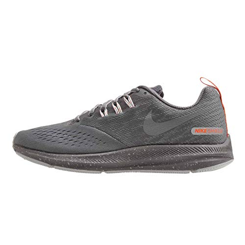 Nike Women's WMNS Zoom Winflo 4 Shield Running Shoes, Multicolour (COOL GREY/MTLC COOL GREY-WOLF GREY 004), 5 UK