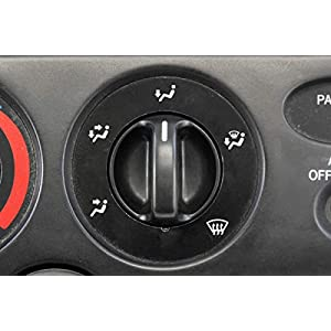 Set of 3 - Compatible with Toyota Tundra Truck 2000-2006 Control Knobs Dials Heater A/C or Fan Replacement Full Air Conditioner