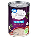 Great Value Cream Of Mushroom Condensed Soup, Gluten-Free, 10.5 oz (Pack of...