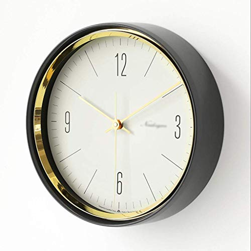 Reloj de pared digital / Relojes de pared Reloj de bolsillo nórdico retro para el hogar Reloj de pared perforado silencioso de cuarzo Reloj de pared Reloj de pared decorativo para el hogar / oficina /
