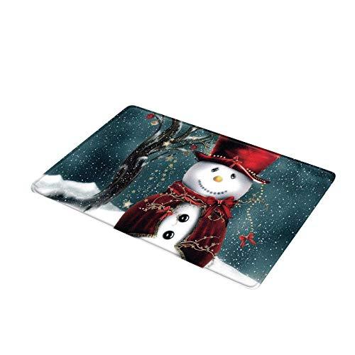 Fasclot Merry Christmas Welcome Doormats Indoor Home Carpets Decor 40x60CM