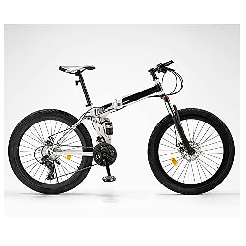 GWL Bicicleta Plegable para Adultos, 24 26 Pulgadas, Bicicleta de montaña prémium para niños, niñas, Hombres y Mujeres, Bicicleta de montaña portátil Ultraligera/B / 26inch
