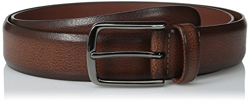Perry Ellis Men's Portfolio Belt, Park Avenue Brown, 34