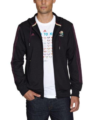 Adidas Official Emblem Sweat-shirt à capuche pour homme Noir noir m