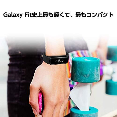 Galaxyアクティブトラッカー活動量計Fiteブラック[Galaxy純正国内正規品]SM-R375NZKAXJP