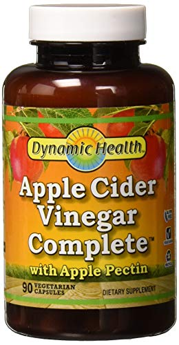 Dynamic Health Apfelweinessig Komplett mit Apfel-Pektin 90 Kapseln