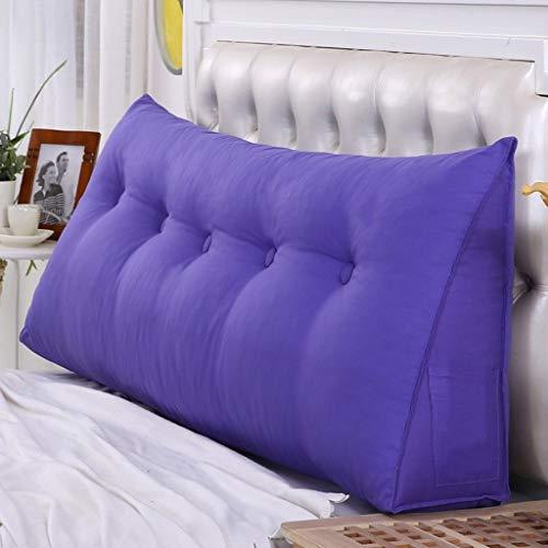 YDS SHOP Modern driehoekig kussens - driehoekig bed ergonomisch ontwerp normale lak afneembare beschermhoes en goed met perenkatoen gevuld sofakussen