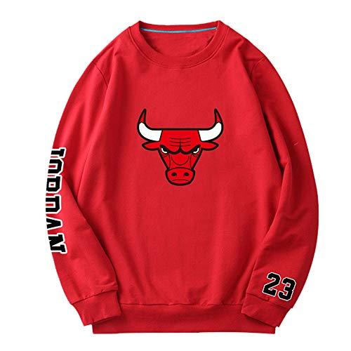 HEJX Bulls Jordan Basketball Sweatshirts 34-S