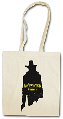 """Urban Backwoods RATWATER Whiskey """"J"""" Hipster Bag – Whisky Jesse Comic Preacher Cassidy Custer Texas TV Series TV Garth Cassidy"""