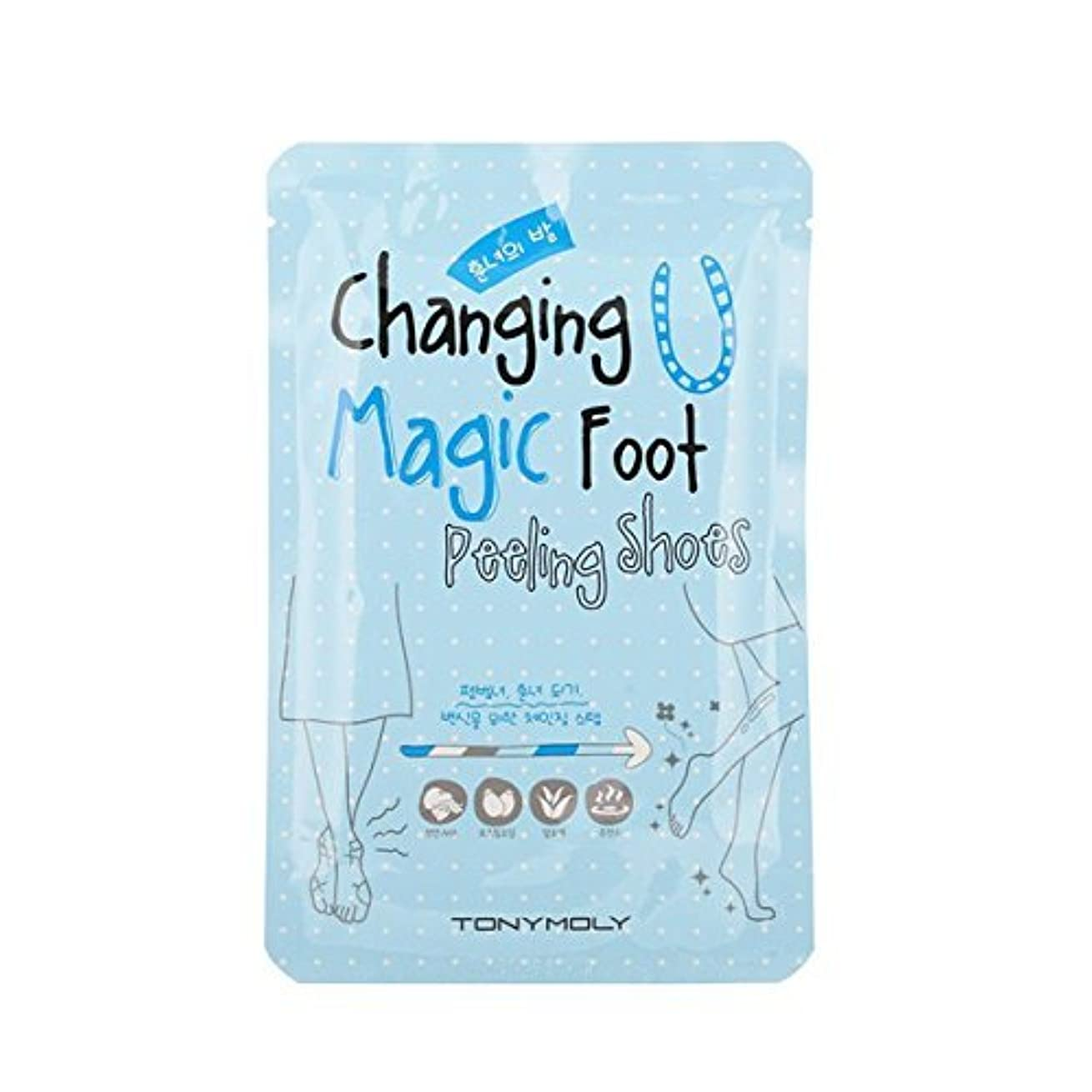 消防士兵隊半導体TONYMOLY Changing U Magic Foot Peeling Shoes (並行輸入品)