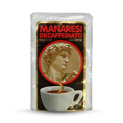 Il Caffè Manaresi caffè macinato sottovuoto decaffeinato