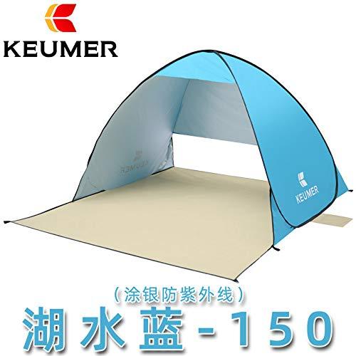 SDSA Automatic Pop-Up2People Ultralight Waterproof Tent, Park, Beach, Outdoor Leisure And Indoor Activities,150*180*100cm