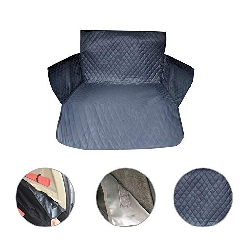 HNXCBH Car Pet Trunk Mat Thick Waterproof Oxford Cloth Mat Dog Cat Back Seat Covers Rear Auto Pad Car Protection Blanket Seat Cover Dog Car Seat Cover
