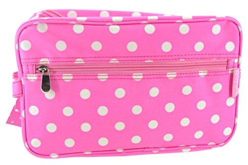 Pink Dotty 30cm Wash bag