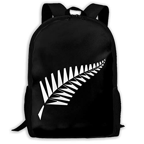 JNMJK Neuseeland M-ao-ri F-ERN Freizeitrucksack Schultasche Travel Daypack Rucksack