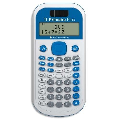 Texas Instrument TI-Primaire Plus Calculatrice Scientifique Blanc