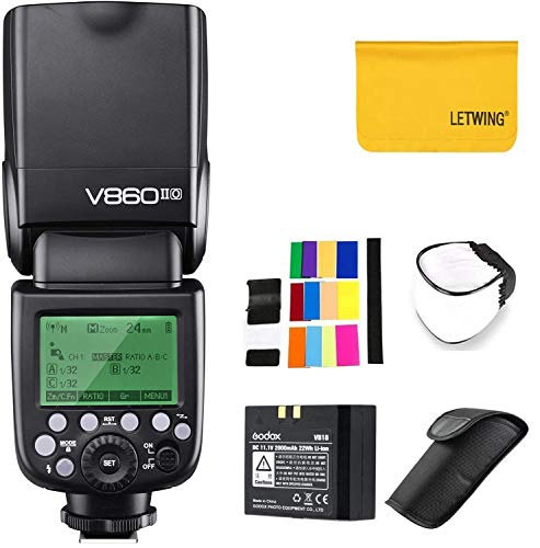 GODOX V860II-O 2.4G TTL Li-on Battery Camera Flash Speedlite